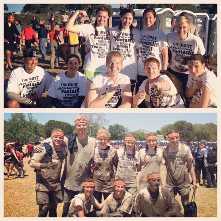 Tough Mudder Before/After T-Shirt Photo