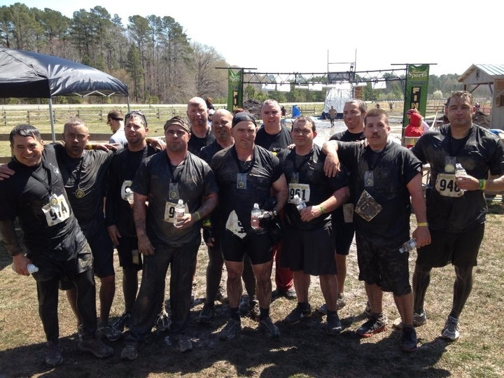 Project Mud Race Finish Line T-Shirt Photo