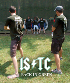 Istc   Back In Green T-Shirt Photo