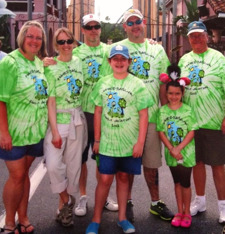 Hayes Da Silva Family Vacation T-Shirt Photo