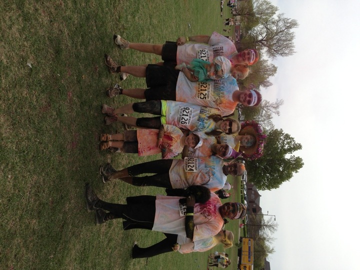 Color Run, Tulsa, Ok 2013 T-Shirt Photo