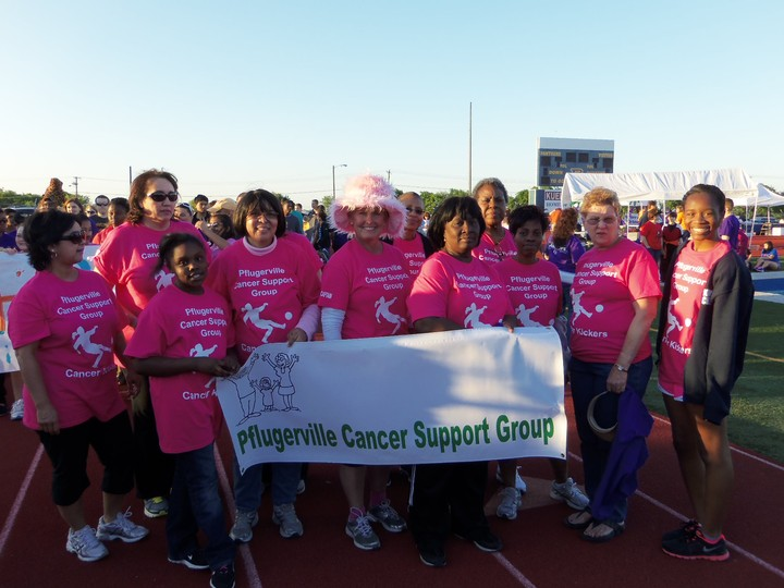 "Pflugerville ""Cancer Kickers"" T-Shirt Photo"