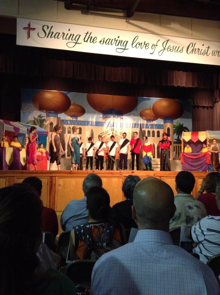 "Redeemer Lutheran Church And School's ""Aladdin"" T-Shirt Photo"