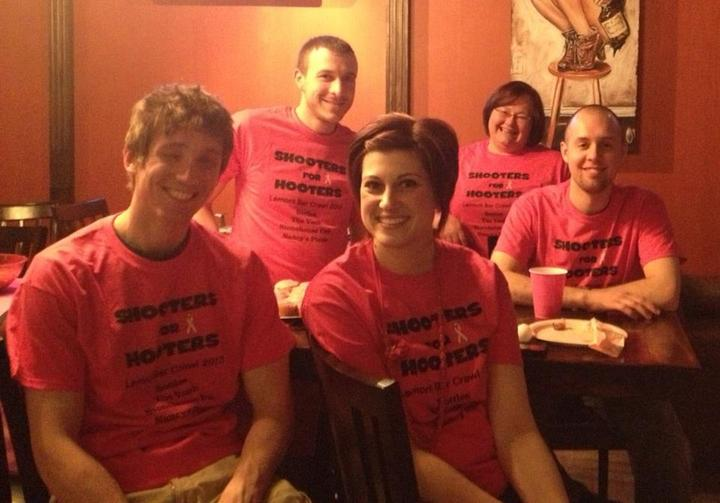 Bar Crawling For The Avon Walk For Breast Cancer! T-Shirt Photo