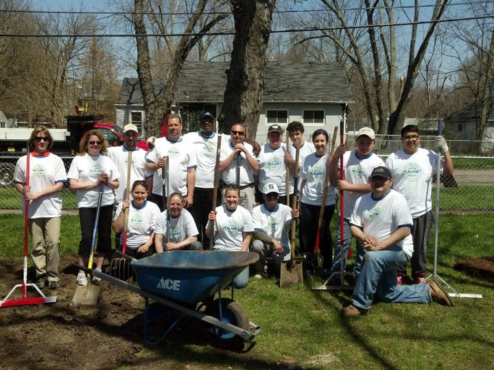 Nlm Planet Day Of Service Crew T-Shirt Photo