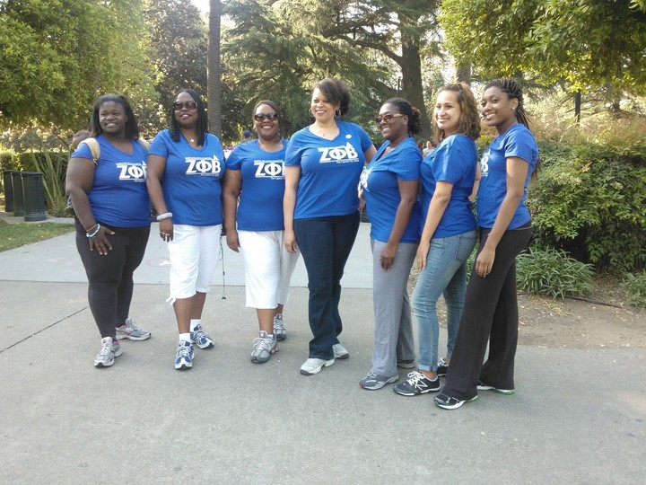 Zeta Phi Beta, Kappa Psi Zeta Chapter March Of Dimes Walk 2013 T-Shirt Photo