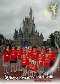 Walt Disney World 40th Anniversary Trip!!! T-Shirt Photo
