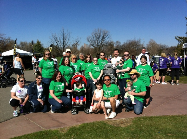 Team Little Dragons @ March For Babies T-Shirt Photo