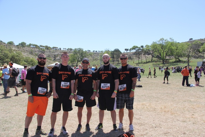 Toughmudder T-Shirt Photo