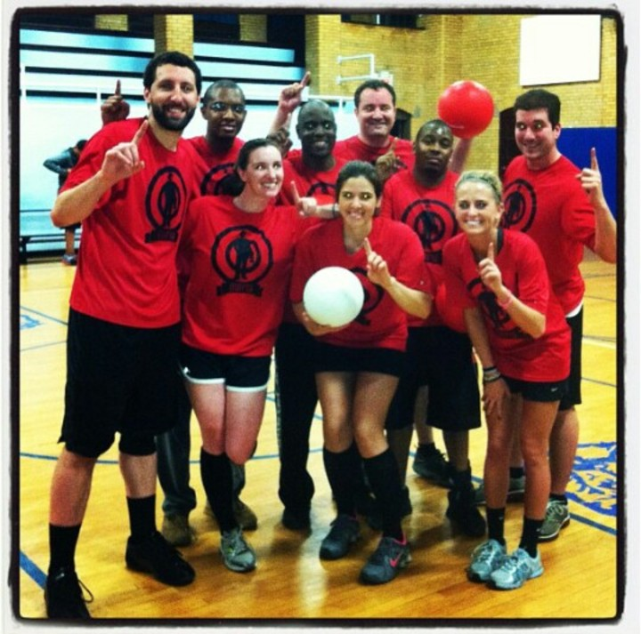 2013 Spring Montclair Dodgeball Champions! T-Shirt Photo