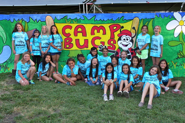 Camp Bug Girls T-Shirt Photo