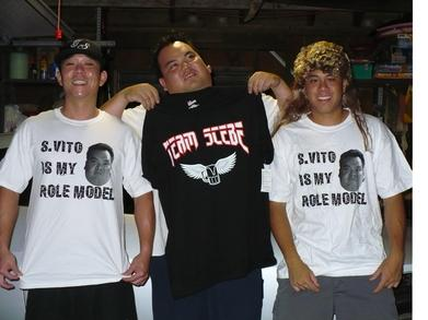 S.Vito Is Our Role Model T-Shirt Photo