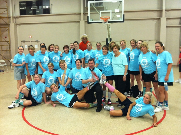 The Holy Hoopsters T-Shirt Photo