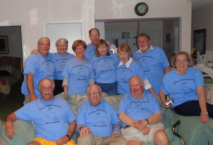 Texas Cousins Reunion 2013 T-Shirt Photo