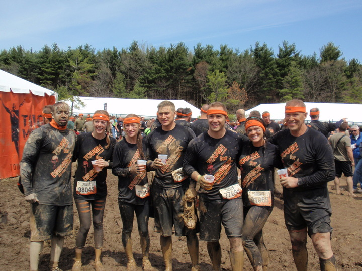 Drevnick Team At Tough Mudder Ohio T-Shirt Photo