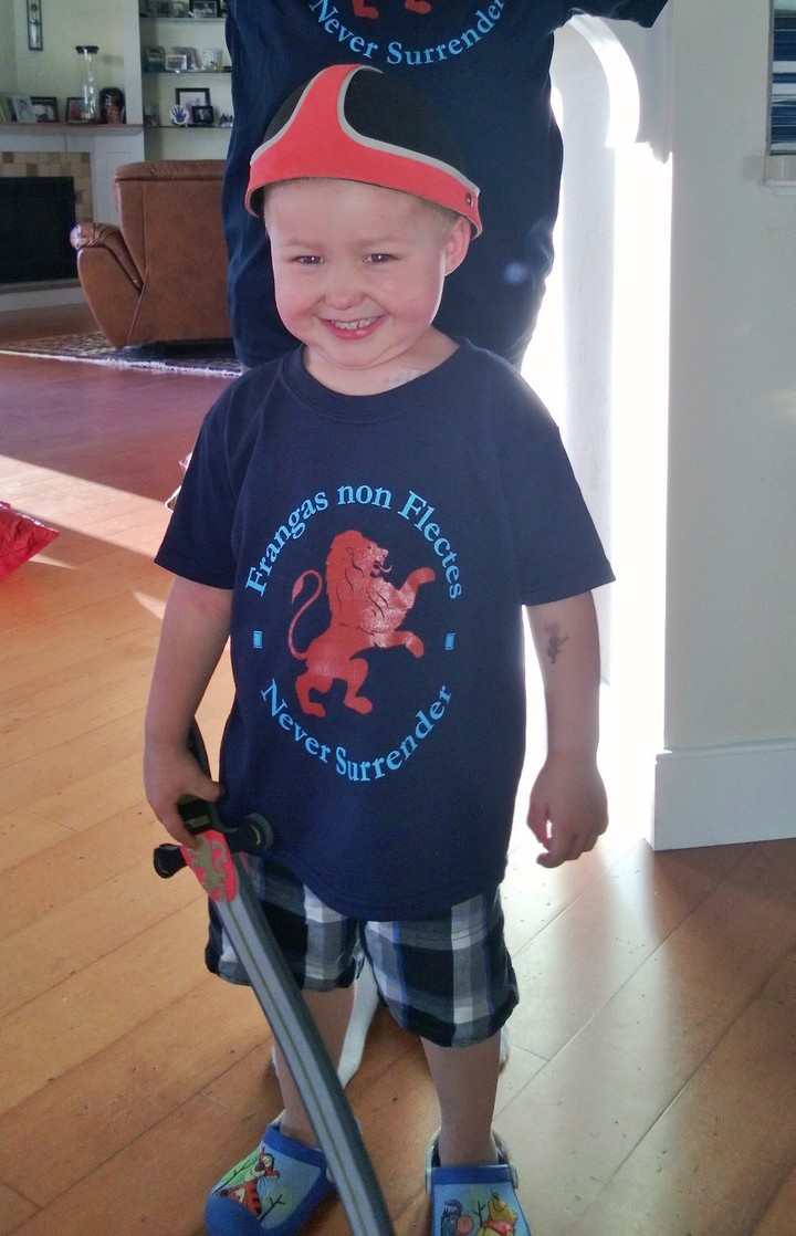 Our Little Knight Is Brave And Strong T-Shirt Photo