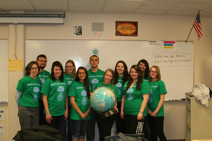 Group Shot   Enviro Club T-Shirt Photo