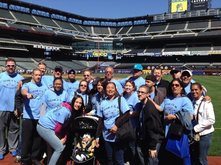 Team Adm Autism Speaks Walk Citi Field 2013 T-Shirt Photo