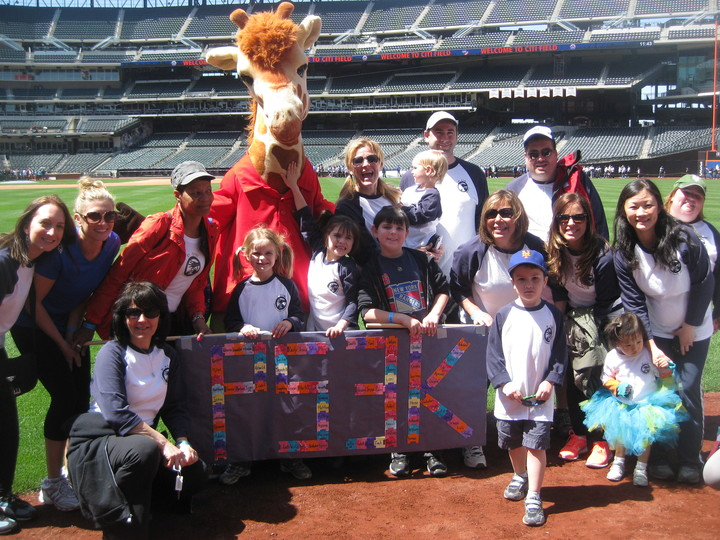 P53 K Walk For A Cure  Autism Walk At Citi Field T-Shirt Photo