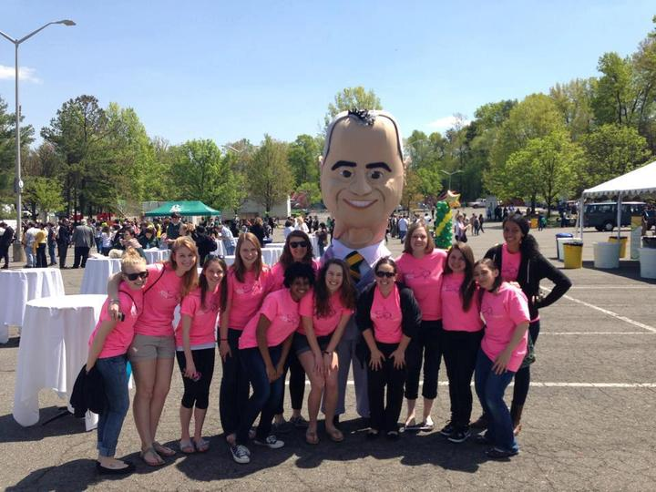 President Of George Mason And Us! T-Shirt Photo