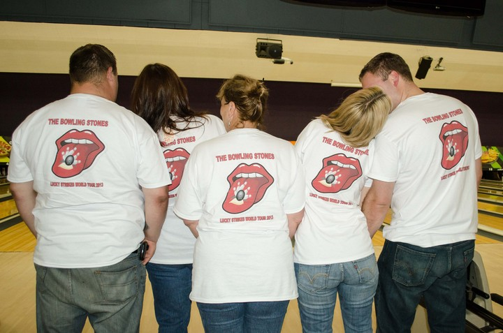 Love Rocks With The Bowling Stones! T-Shirt Photo