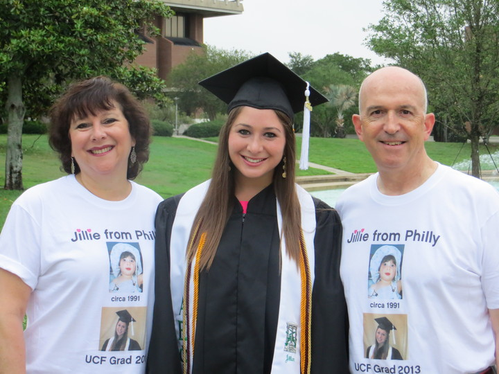 Jillian's Graduation T Shirts T-Shirt Photo