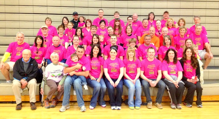 Team Erin Drea Ms For A Cure 2013 T-Shirt Photo