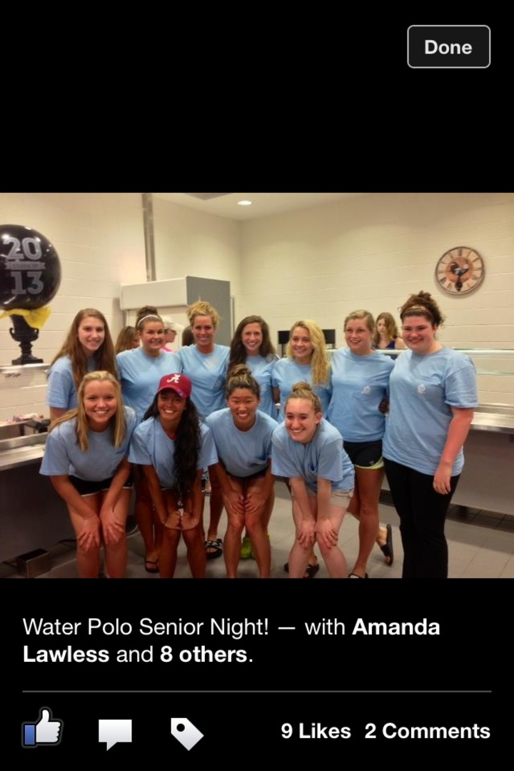 The Elders Of Girls Water Polo. Senior Class Of 2013! T-Shirt Photo