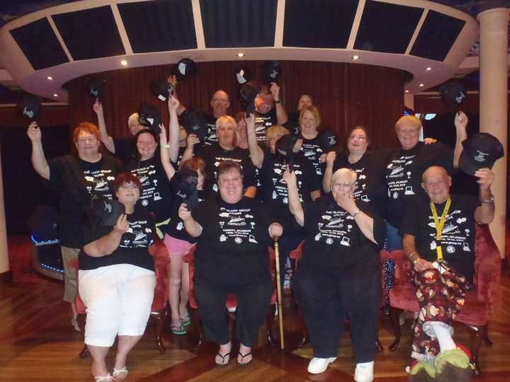 Gloop Group Cruise 2013 T-Shirt Photo