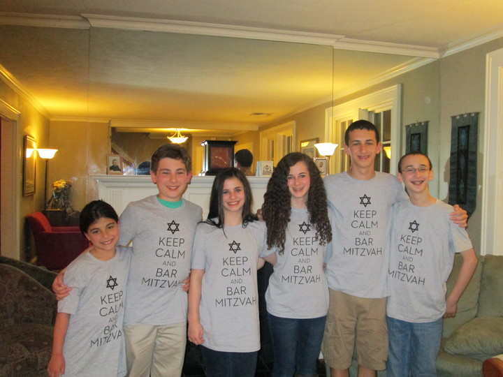 Eitan's Bar Mitzvah   The First Cousins T-Shirt Photo
