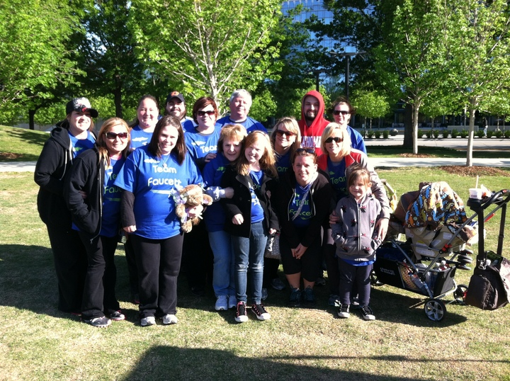 Team Faucett March For Babies T-Shirt Photo