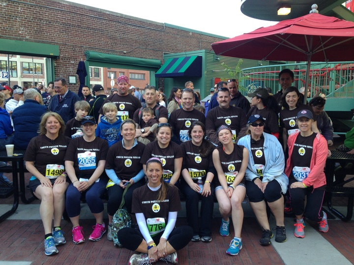 Couch Potato Ninjas In The Run To Home Base May 2013 T-Shirt Photo