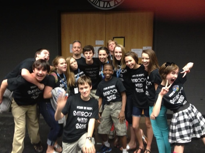8th Grade Theatre T-Shirt Photo