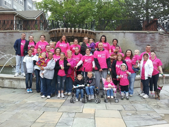 I Walk For Becca, March Of Dimes  T-Shirt Photo