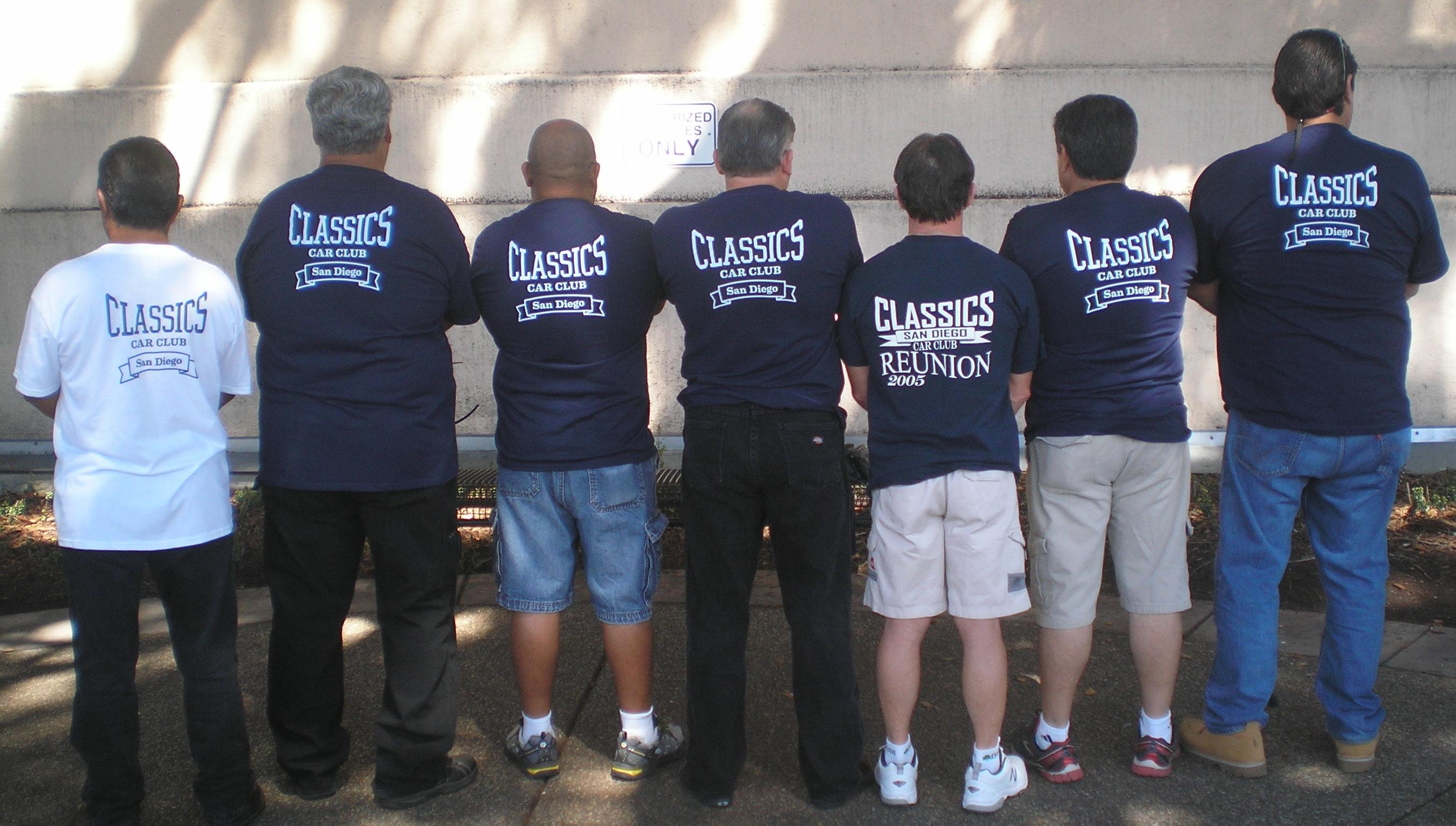 Shirt design san diego - Classics Car Club At The Museum T Shirt Photo