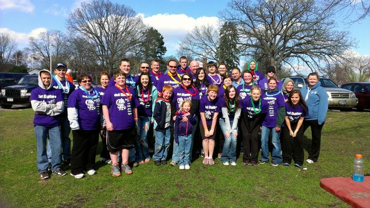 Crohns Walk #1 Team Gut Busters T-Shirt Photo