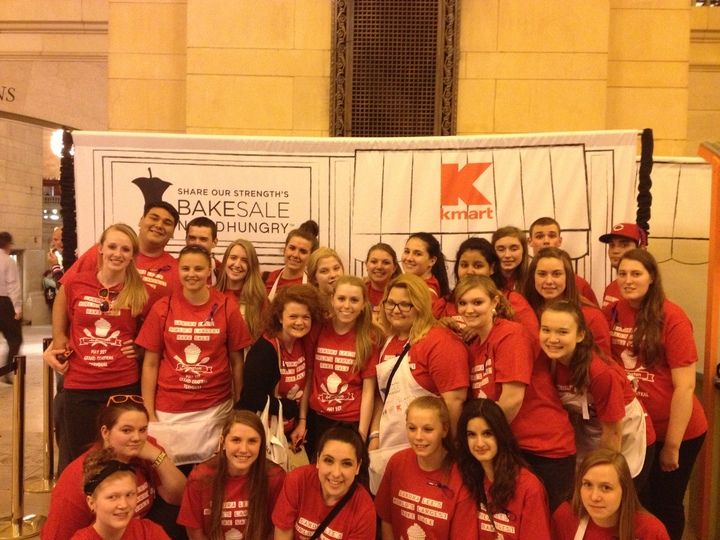 Worlds Largest  Bake Sale At Grand Central Station T-Shirt Photo