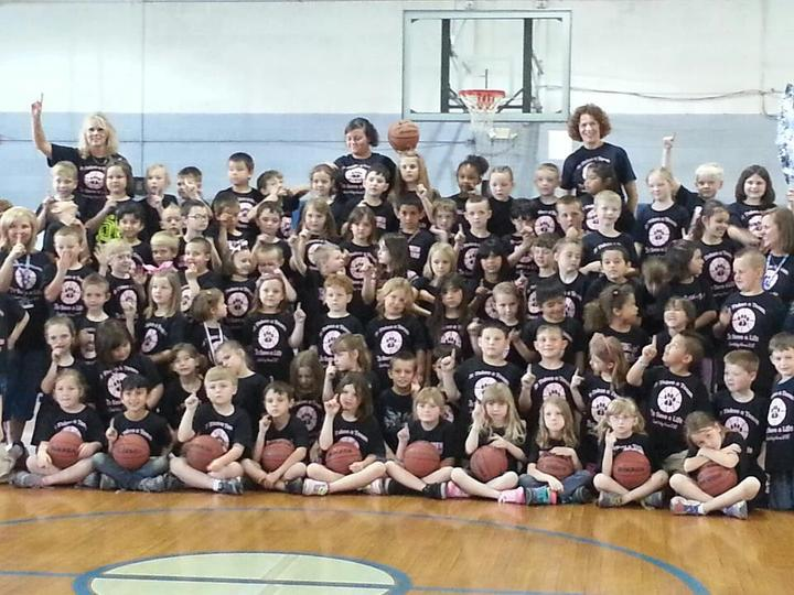 "First Grade Is ""Shooting For A Cure!"" T-Shirt Photo"