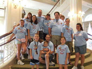 Meaden Family Disney Trip 2007 T-Shirt Photo