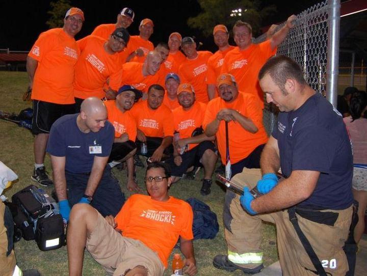 Four Wins, Three Losses, One Injury T-Shirt Photo
