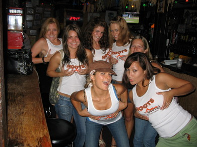 Making Fun Of Hooters Girls! T-Shirt Photo