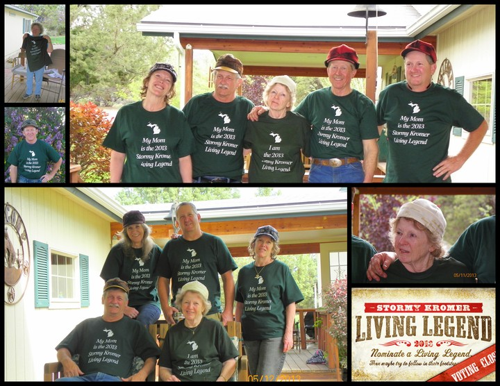 2013 Stormy Kromer Living Legend   Our Mom T-Shirt Photo