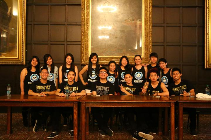 Pan Asia With Poreotics Dance Crew T-Shirt Photo