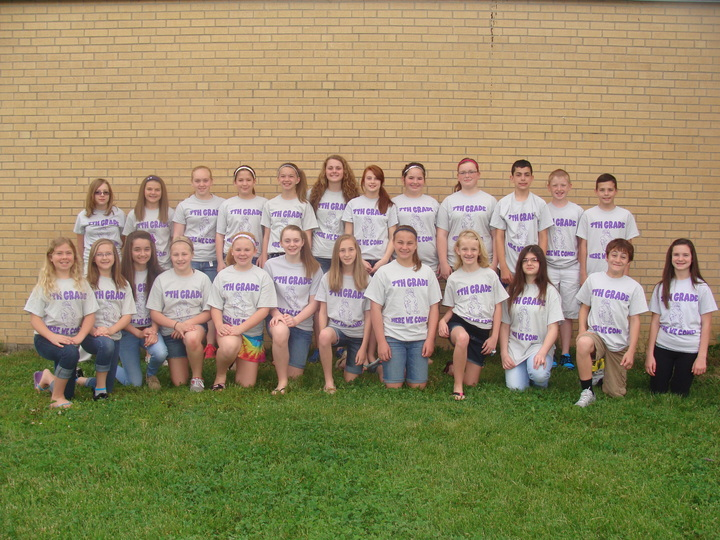 Moulton Middle School   6th Graders Say Goodbye T-Shirt Photo