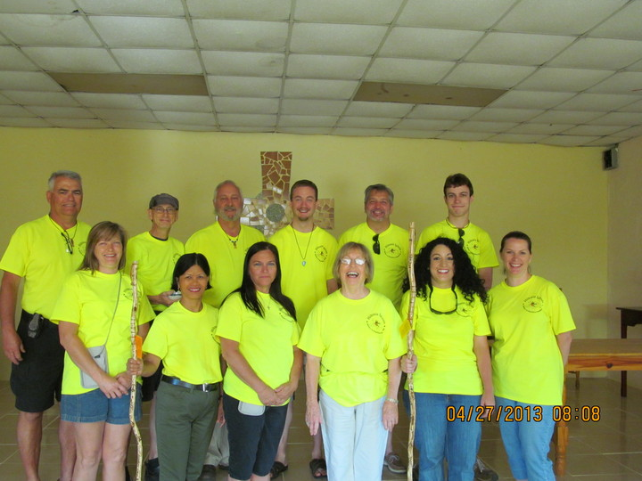 Hiltonia Iglesia Mission Team T-Shirt Photo