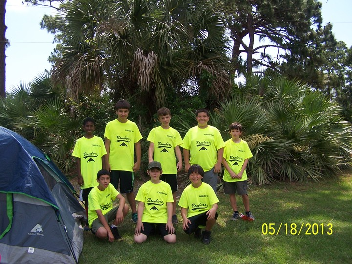 """The """"Rescue Team"""" On The Campout!  T-Shirt Photo"""