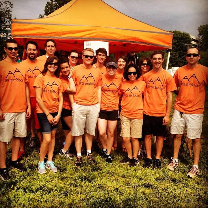 #Team Boone T-Shirt Photo