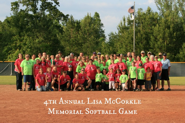 Lisa Mc Corkle Memorial Softball Game T-Shirt Photo
