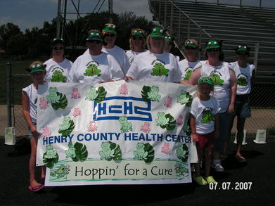 Hoppin' For A Cure T-Shirt Photo