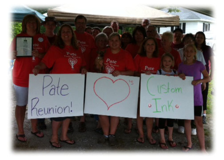 Pate Family Reunion T-Shirt Photo